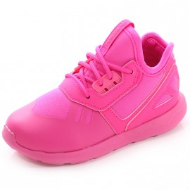 Chaussures Tubular Runner EL Rose Fille Adidas