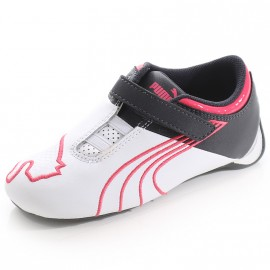 Chaussures Future Cat Big M1 Blanc Rose Bébé Fille Puma