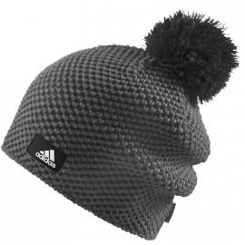 Bonnet Tricot Gris Femme Adidas