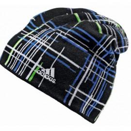 Bonnet Check Noir Homme Adidas