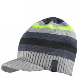 Bonnet Striped Visor Gris Homme/Femme Adidas