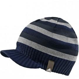 Bonnet Striped Visor Marine Homme/Femme Adidas