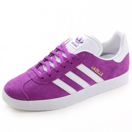 Chaussures Gazelle Violet Femme Adidas
