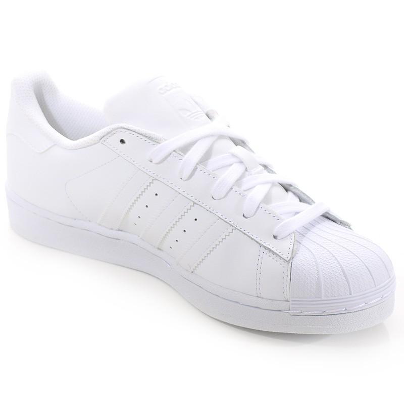 Chaussures Superstar Blanc Homme Femme Adidas