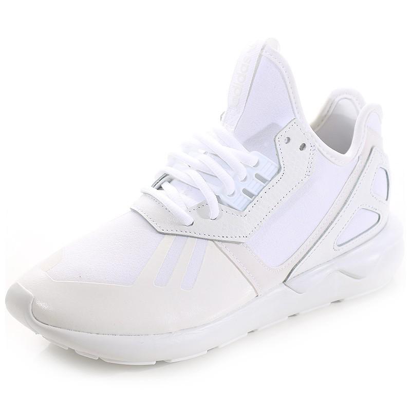 Femme Blanc Chaussures Tubular Runner Adidas XuTkOwZiP