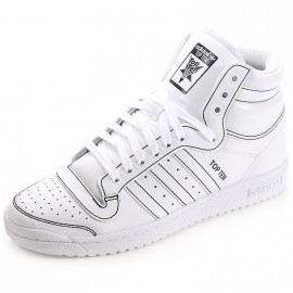Chaussures Top Ten Montante Blanc Homme Adidas