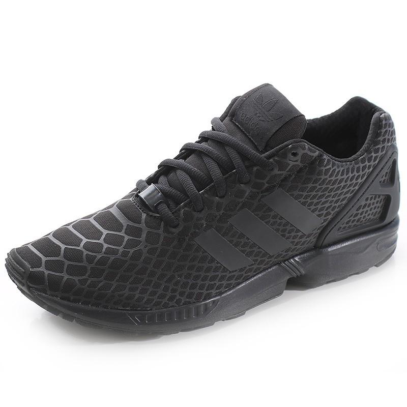 lowest price 41e4d 43d2c Chaussures ZX Flux Technfit Noir Homme Adidas