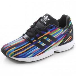 Chaussures ZX Flux Multi Couleur Garçon Adidas