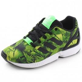 Chaussures ZX Flux Vert Garçon Adidas