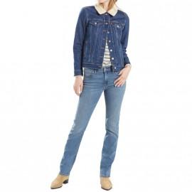 Jean 712 Slim Bleu Femme Levi's