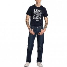 Jean 504 Straight Bleu Homme Levi's