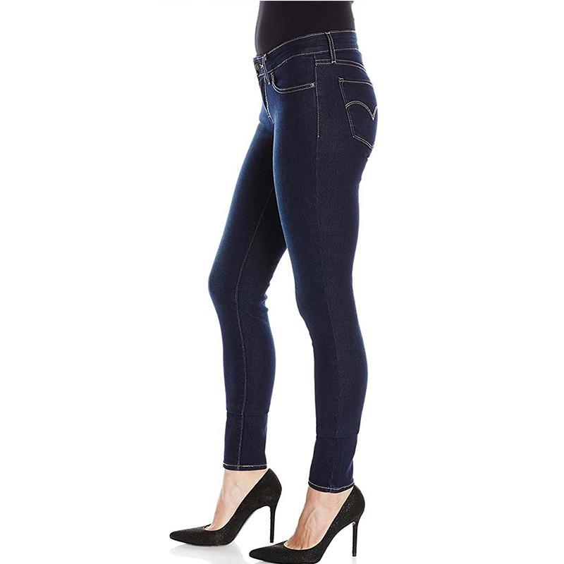 jean 711 skinny bleu femme levi 39 s. Black Bedroom Furniture Sets. Home Design Ideas