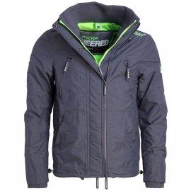 Coupe-vent polaire Wind Attacker Gris Homme Superdry