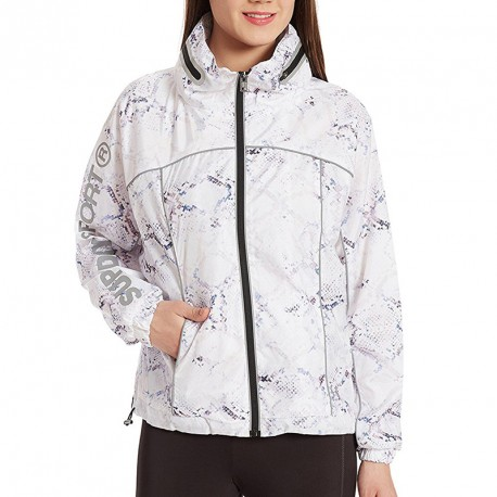 Coupe-vent Gym Running Blanc Femme Superdry