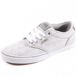 Chaussures Atwood Deluxe Gris Homme Vans