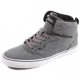 Chaussures Atwood Montante Gris Homme Vans
