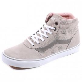 Chaussures Milton Montante Gris Femme Vans