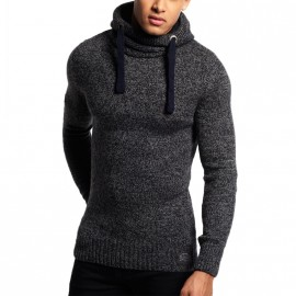 Pull Stealth Hood Gris Homme Superdry