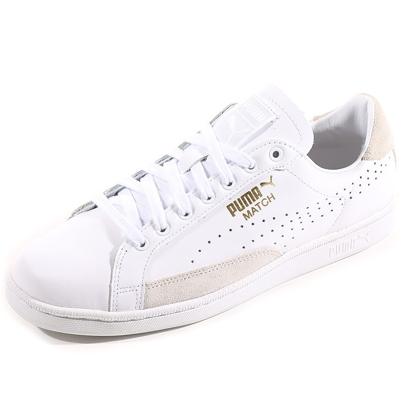 236080c4cad Chaussures Match 74 UPC Blanc Homme Puma