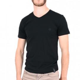 Tee-shirt Noir Homme Redskins