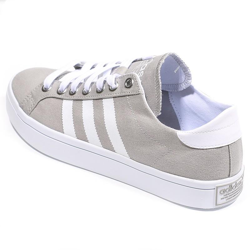 meilleur service 956b7 455f5 Chaussures Court Vantage Blanc Beige Homme Adidas