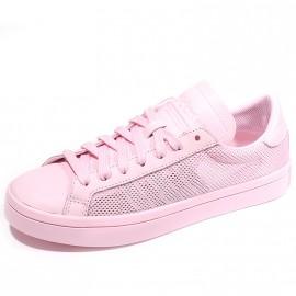 Chaussures Court Vantage Rose Femme Adidas