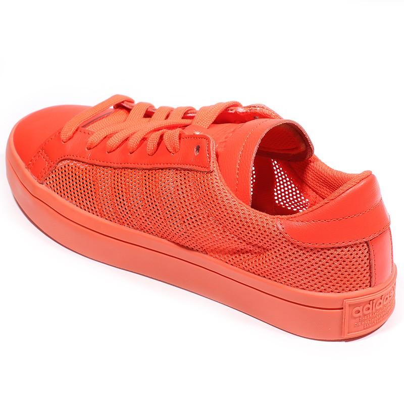 Nouvelles Arrivées 41ef6 e9060 Chaussures Court Vantage Orange Femme Adidas