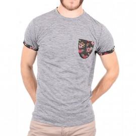 Tee-shirt Andre Gris Homme Deeluxe
