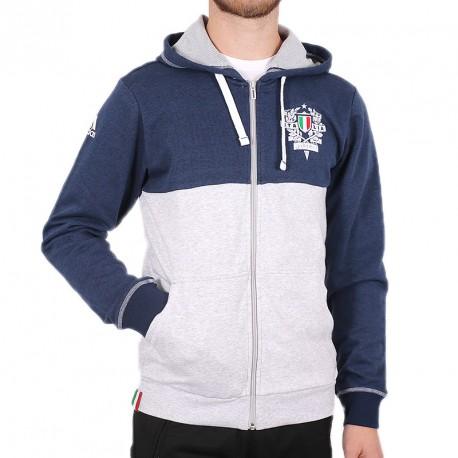 Veste Italie Rugby Gris Homme Adidas