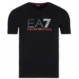 Tee Shirt Noir Homme Emporio Armani