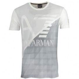 Tee Shirt Gris Homme Emporio Armani
