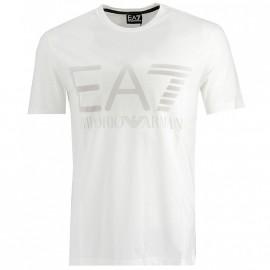 Tee Shirt GrisBlanc Homme Emporio Armani