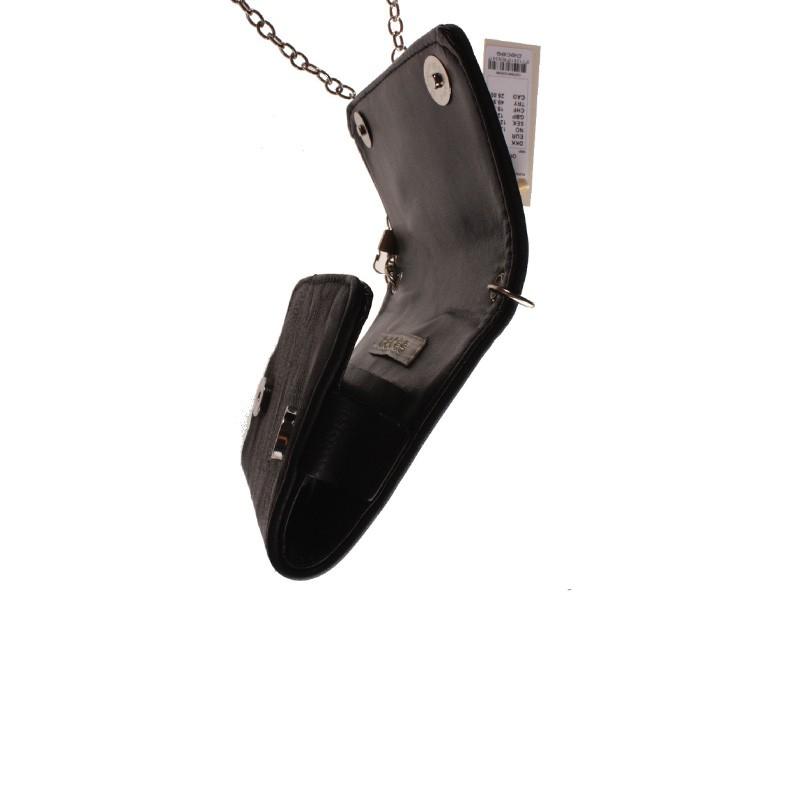 Petit sac à bandoulière Pam Noir Femme Pieces