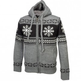 Veste Sherpa Snow Gris Homme Crossby