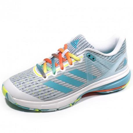 Blanc Chaussures Court Handball Stabil Adidas 13 Femme yYg6bfv7