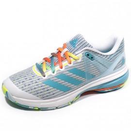 Chaussures Court Stabil 13 Blanc Handball Femme Adidas