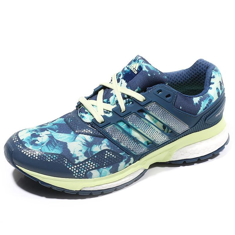 new concept 62d82 5721f Chaussures Response 2 Graphic Bleu Running Femme Adidas