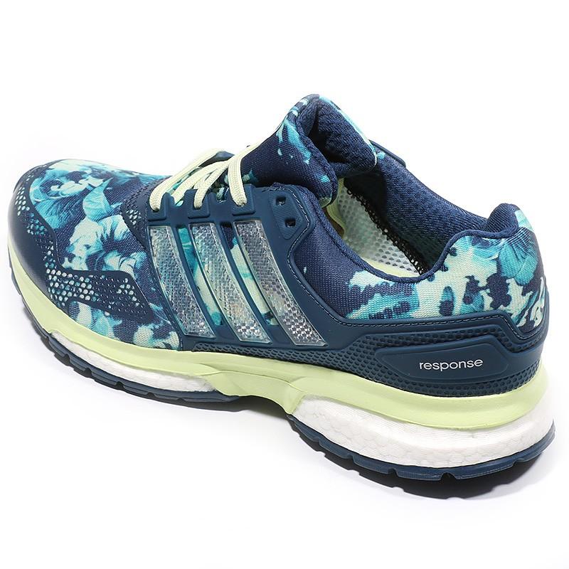 new concept d00e8 df566 Chaussures Response 2 Graphic Bleu Running Femme Adidas
