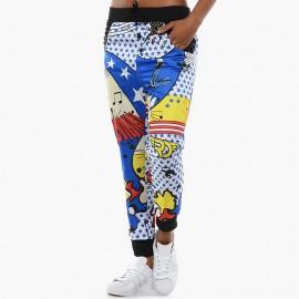 Pantalon Super Track Rita Ora Blanc Femme Adidas
