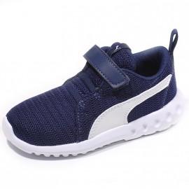 Chaussures Carson 2 V Bleu Bébé Garçon Puma