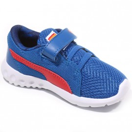 Chaussures Carson 2 V Superman Bleu Bébé Garçon Puma