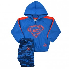 Survêtement Superman Bleu Bébé Garçon Puma