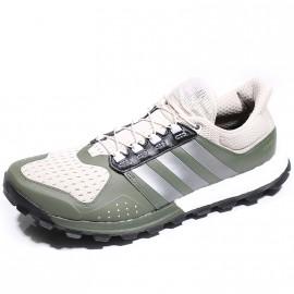 Chaussures Raven Boost Vert Trail Homme Adidas