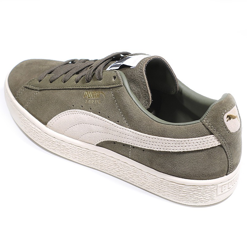 Stultify Suède Classic Chaussures Homme Aedwvqxwamp; Puma Kaki zqUGSVpM
