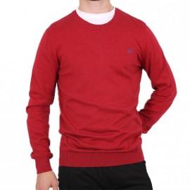 Pull Morris Rouge Homme Pépé Jeans
