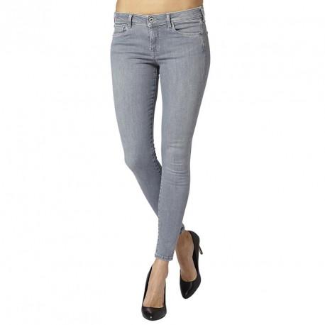 jean skinny lola gris femme pepe jeans. Black Bedroom Furniture Sets. Home Design Ideas
