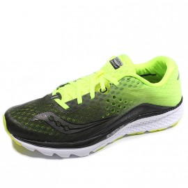Chaussures Kinvara 8 Vert Noir Running Homme Saucony