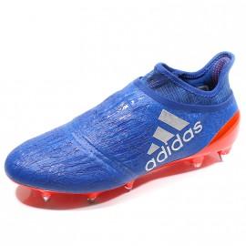 Chaussures X 16+ Purechaos SG Bleu Football Homme Adidas