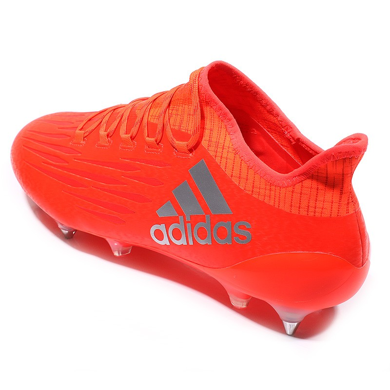 Chaussures X 16.1 SG Rouge Football Homme Adidas