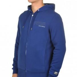 Sweat zippé Bleu Homme Puma